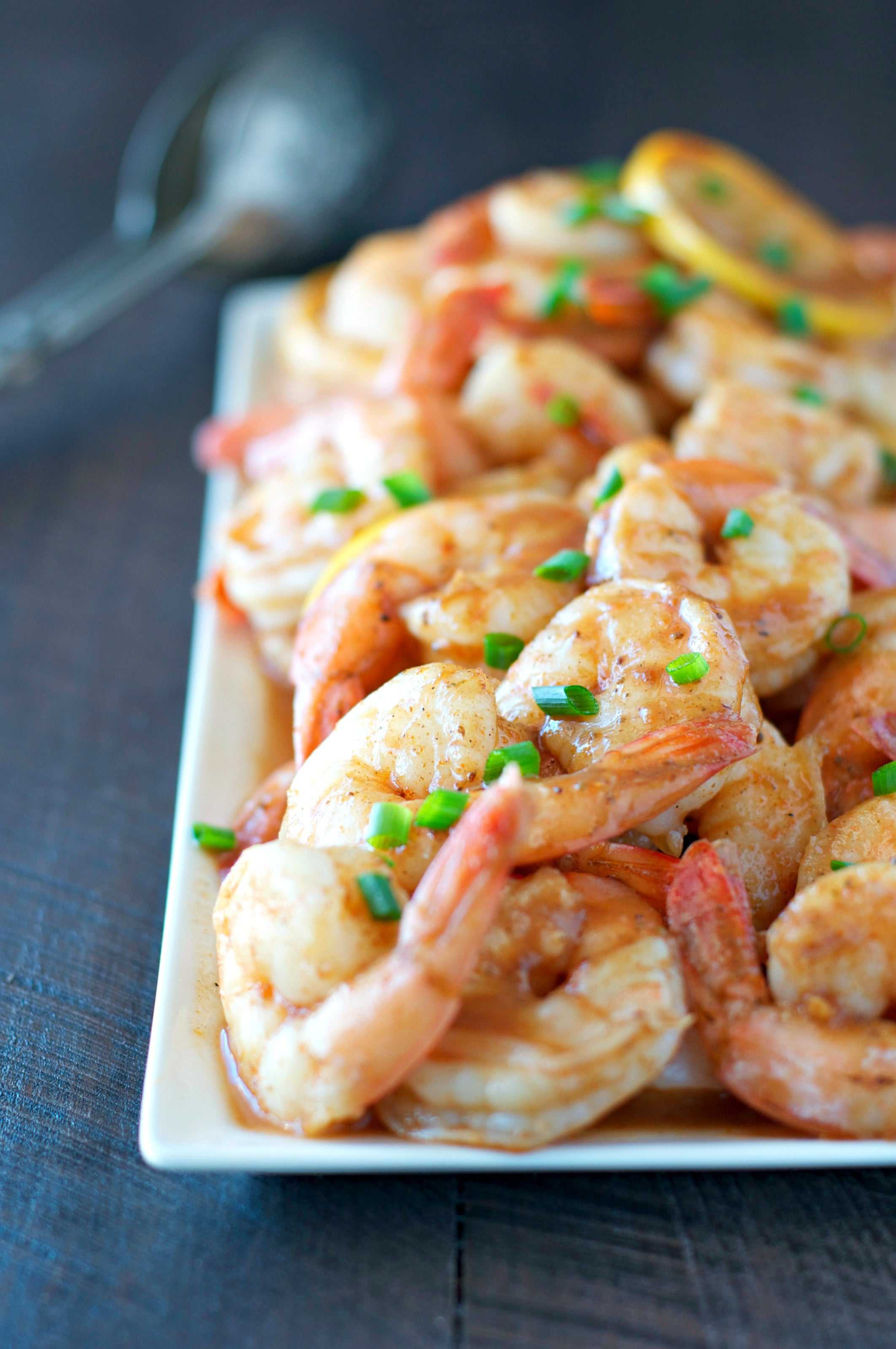 Oven Roasted Barbecue Shrimp 1