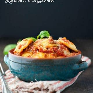 Easy Slow Cooker Recipes: Ravioli Casserole