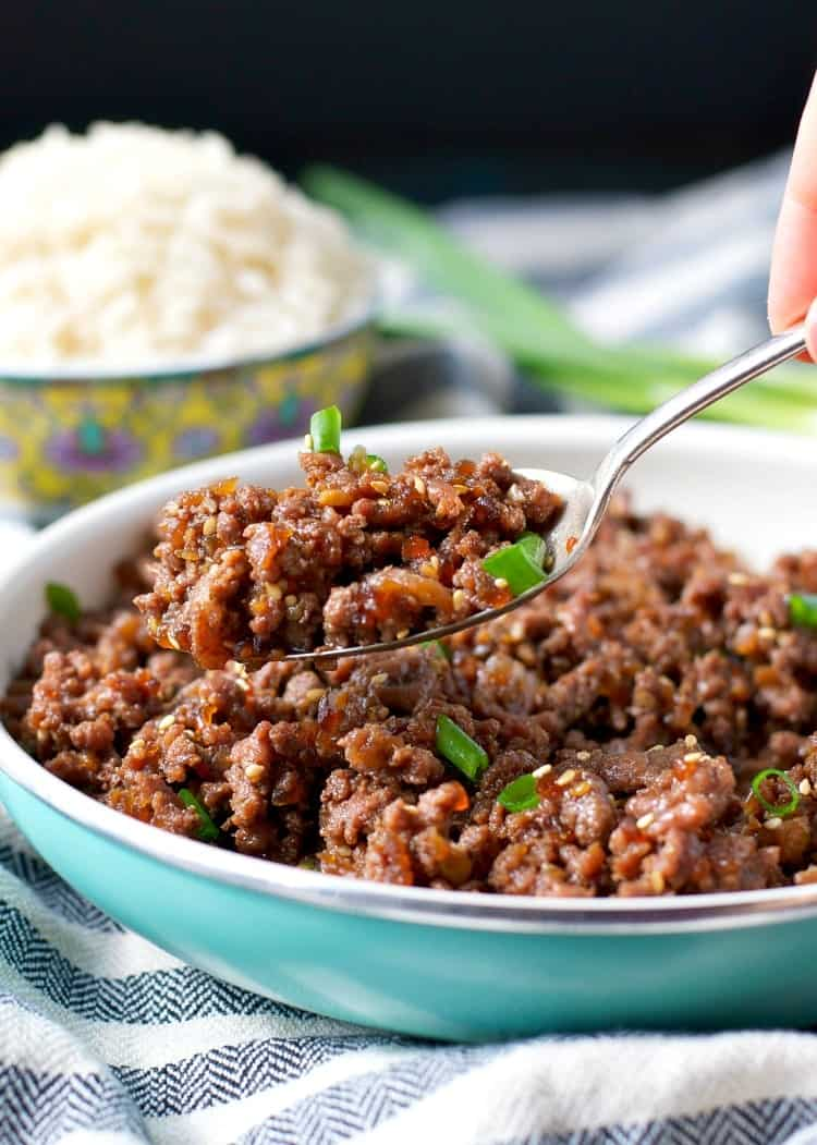 10-Minute Beef Teriyaki Skillet | Easy Ground Beef Recipes You'll Crave | healthy ground beef recipes low carb