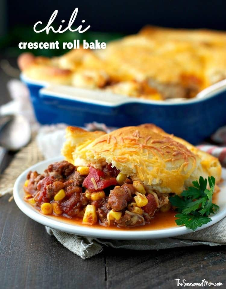 Easy Chili Crescent Roll Bake