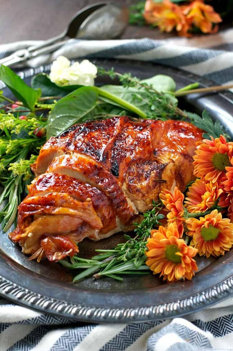 Easy roasted turkey breast