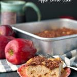 Mom's Easy Apple Coffee Cake