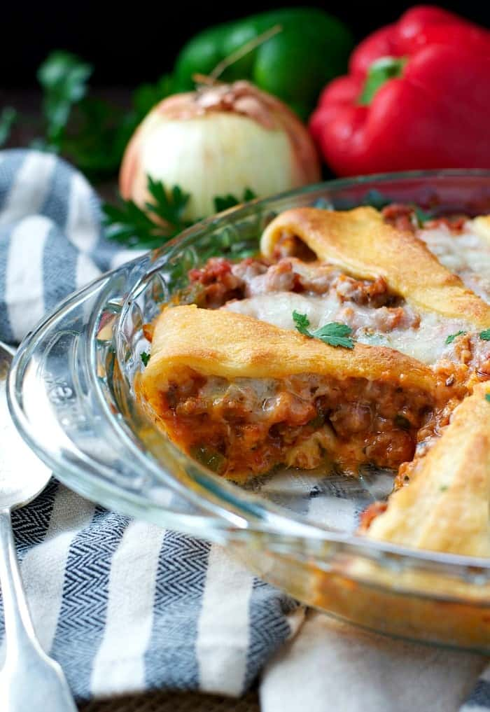 sausage-and-pepperoni-crescent-roll-casserole-5