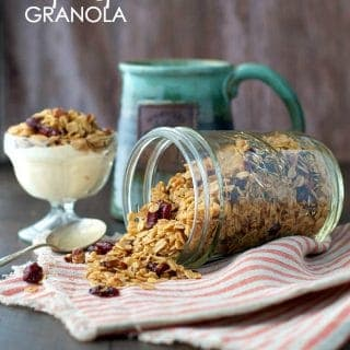 Slow Cooker Pumpkin Spice Granola Recipe