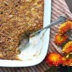 Cranberry Pecan Corn Pudding