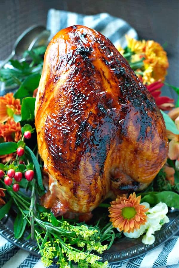 Easy Maple Glazed Roasted Turkey Breast The Seasoned Mom