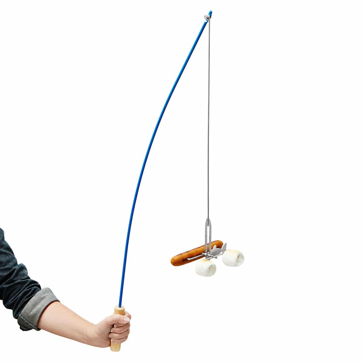 fishing-pole-campfire-roaster