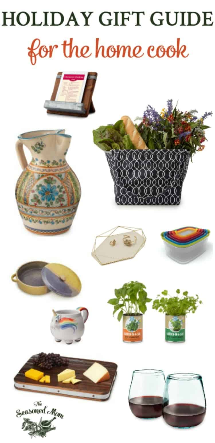 This Holiday Gift Guide for the Home Cook features unique options in every price range for the person who has everything. Christmas shopping just got easier!