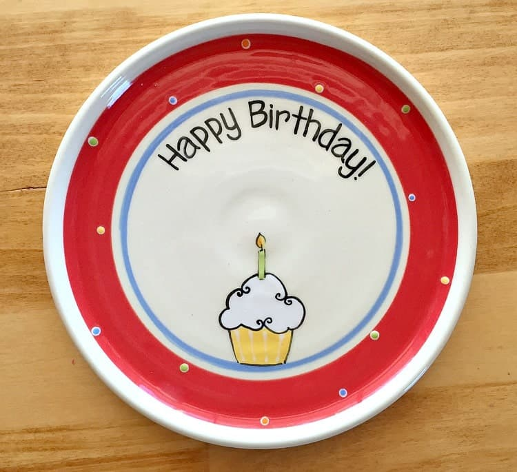 birthday-plate