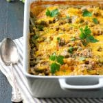 Dump-and-Bake Chicken Rice Casserole