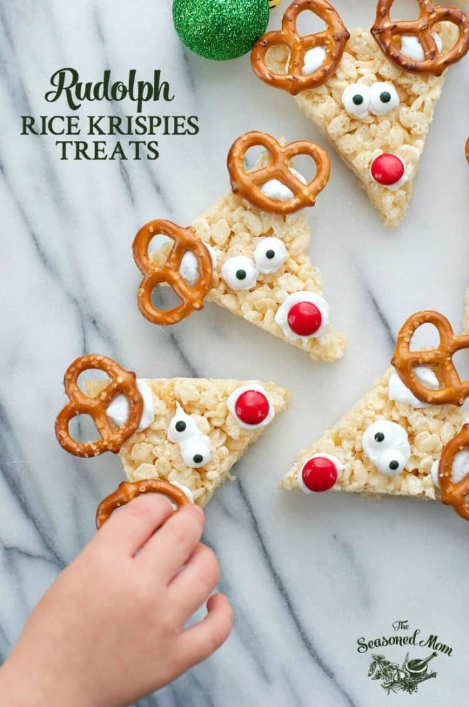 Rudolph Rice Krispies® Treats