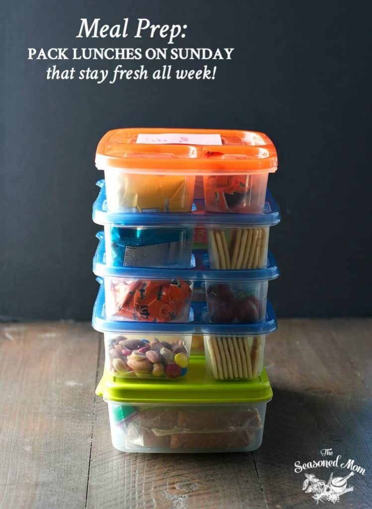 Meal Prep: How to Pack School Lunches on Sunday that Stay Fresh All Week!