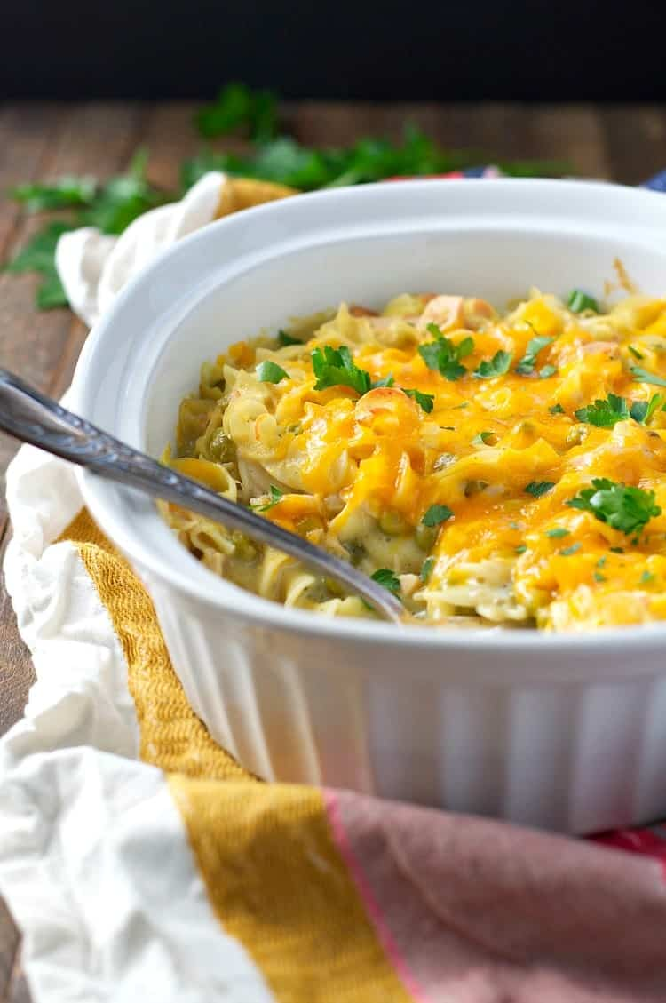 This Tuna Noodle Casserole is an easy dinner that's so good it's truly unforgettable!