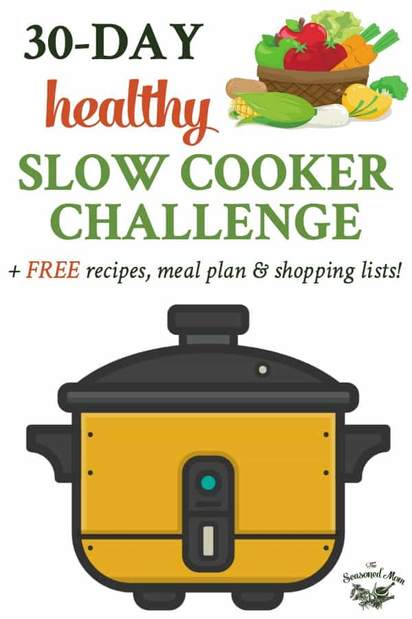 Text and illustrations for Healthy Slow Cooker recipes challenge