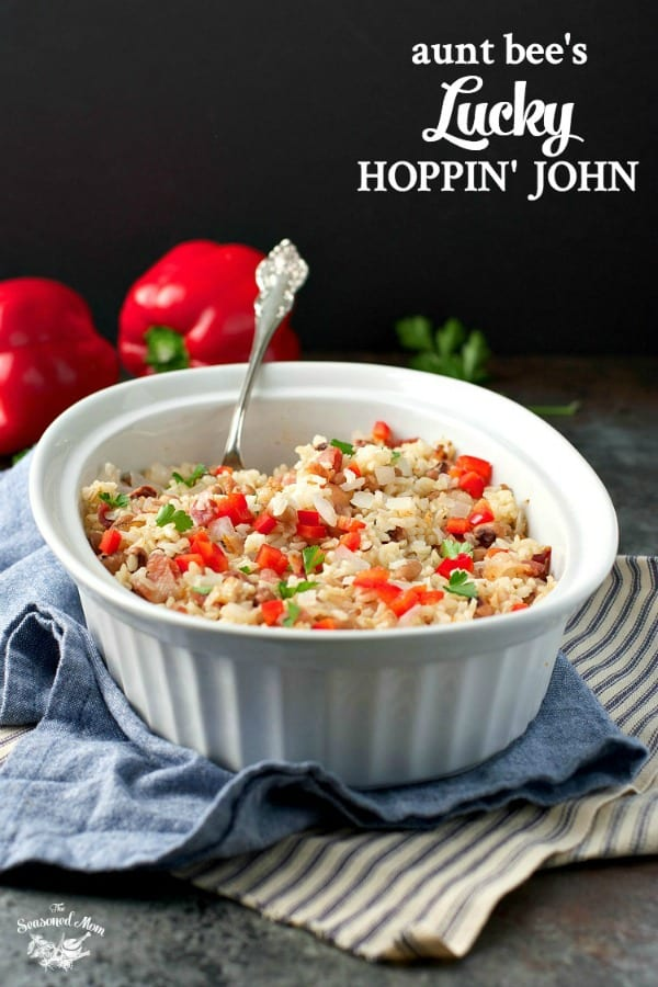 Hoppin John with text overlay