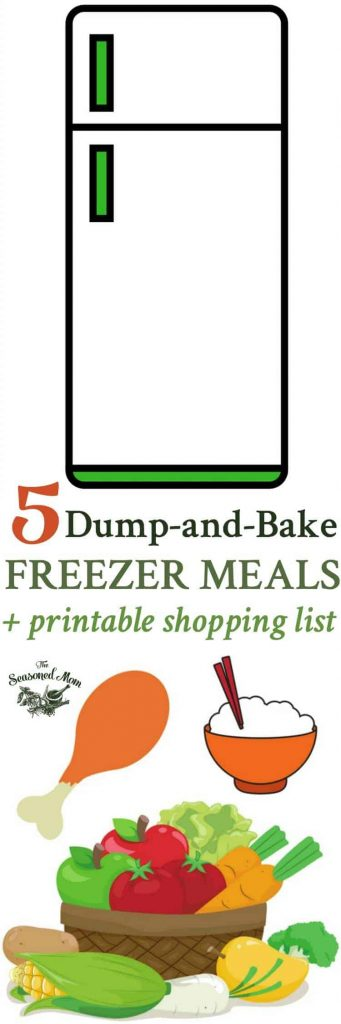 5 Dump-and-Bake Freezer Meals to Make this Week!