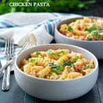 Dump-and-Bake Creamy Tuscan Chicken Pasta
