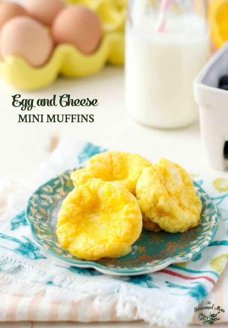 Egg and Cheese Mini Muffins - The Seasoned Mom