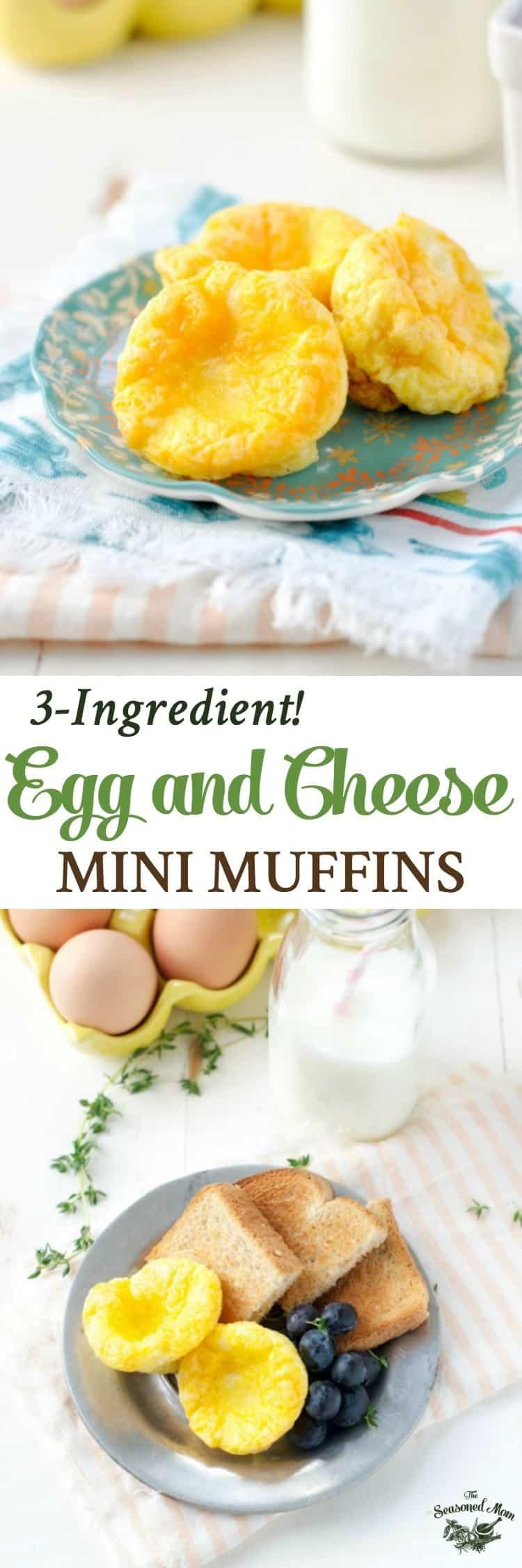 Egg And Cheese Mini Muffins The Seasoned Mom