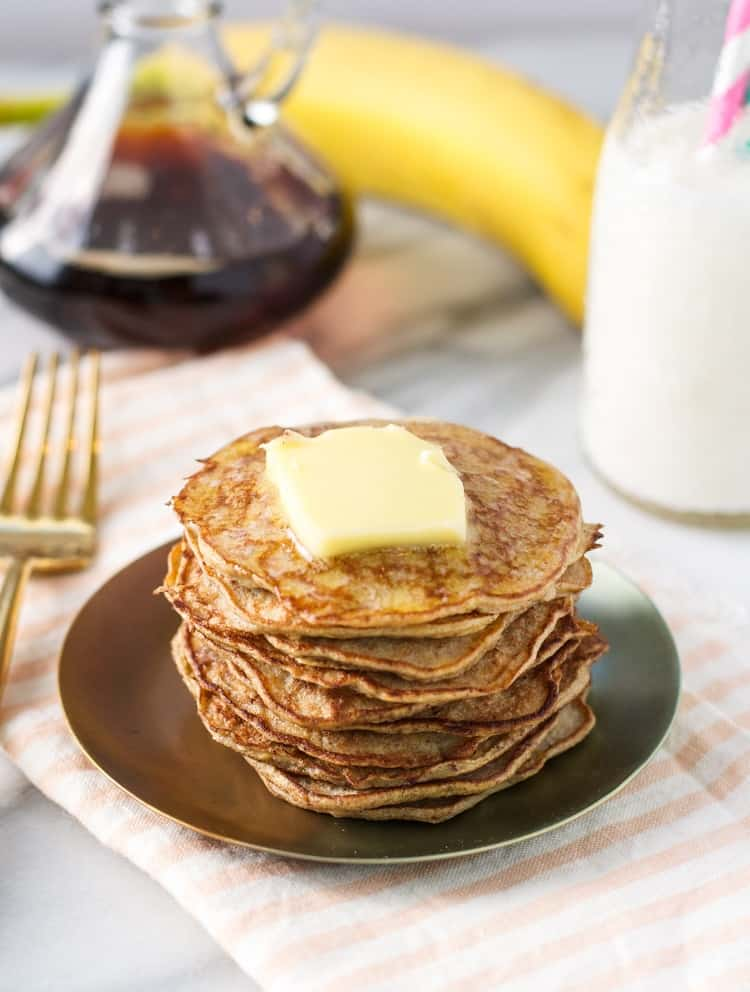 Try these healthy banana pancakes with just 3 ingredients for a toddler breakfast