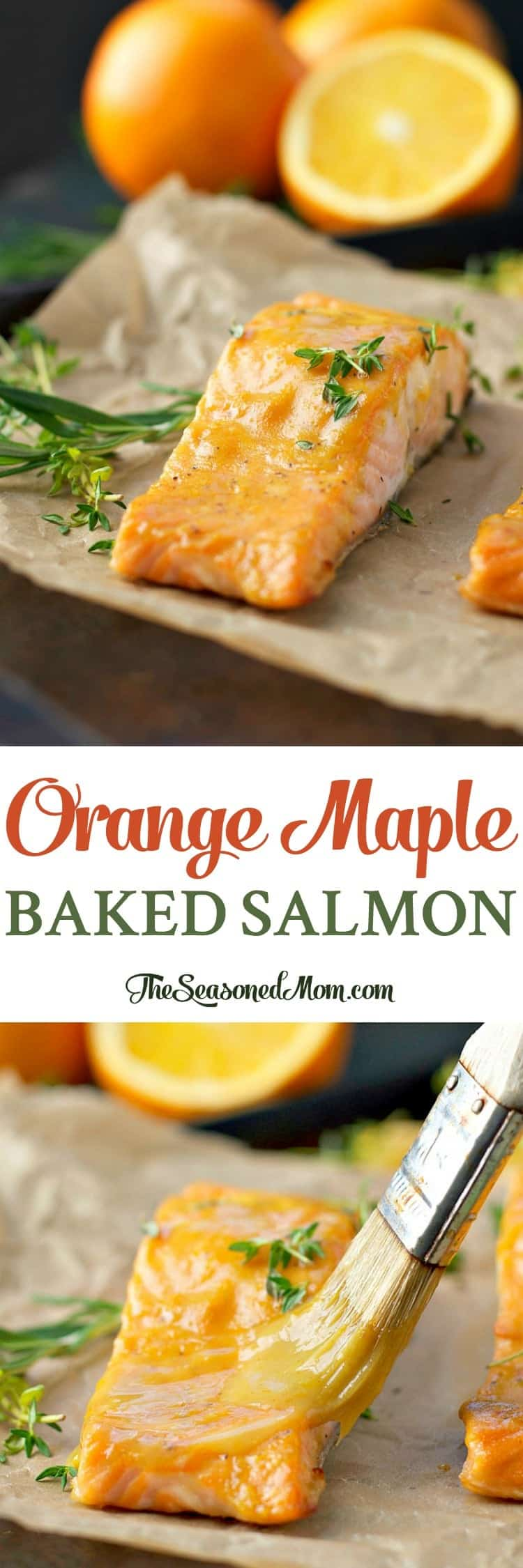 Orange maple baked salmon 700 amazon gift card giveaway for Fish dishes for dinner