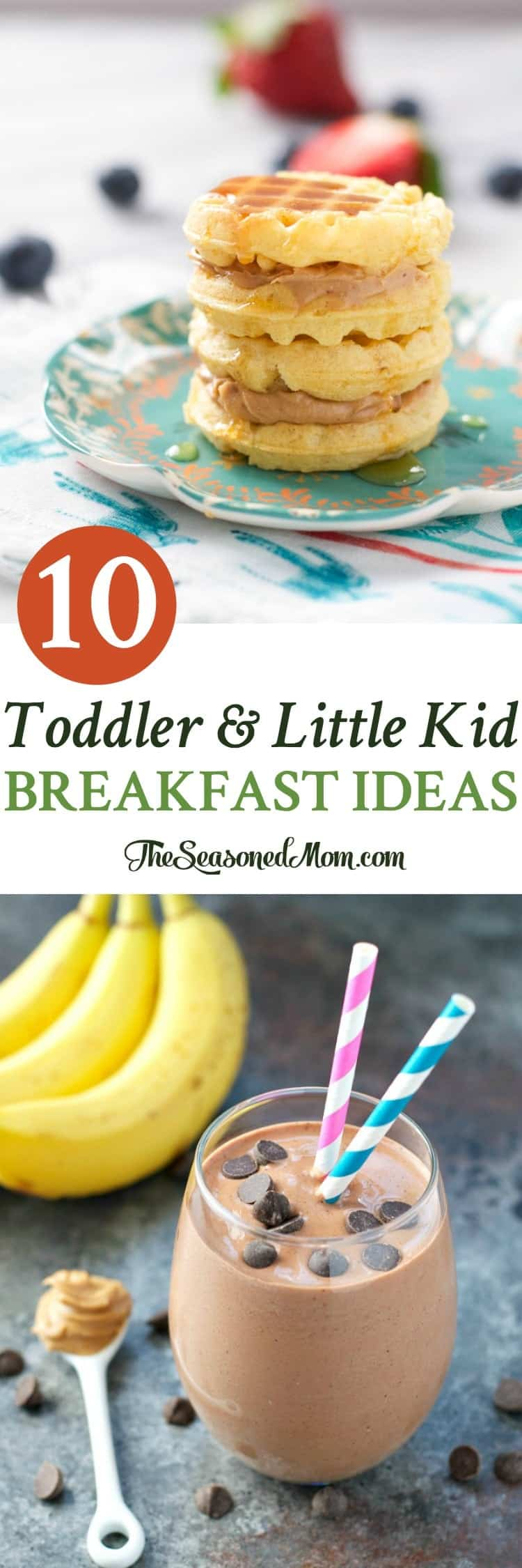Easy and healthy Toddler and Little Kid Breakfast Ideas! Breakfast recipes  for Kids! Toddler