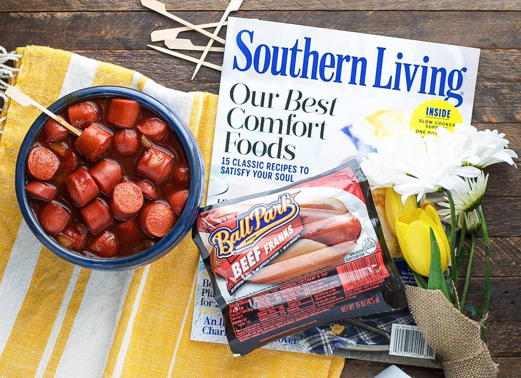 These 10-minute Slow Cooker Bourbon Barbecue Bites are crowd-pleasing easy appetizers with Southern charm! Perfect for game day or a Derby party!