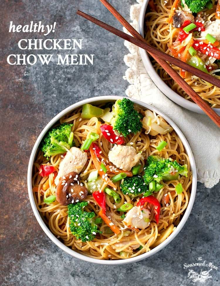 Healthy Chicken Chow Mein