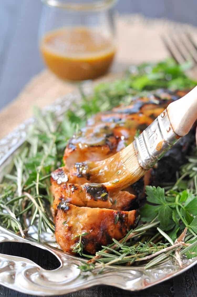 Honey Garlic Pork Tenderloin Marinade for the Grill or Oven | Dinner Ideas | Dinner Recipes | Healthy Recipes | Healthy Dinner Recipes | Pork Recipes | Gluten Free