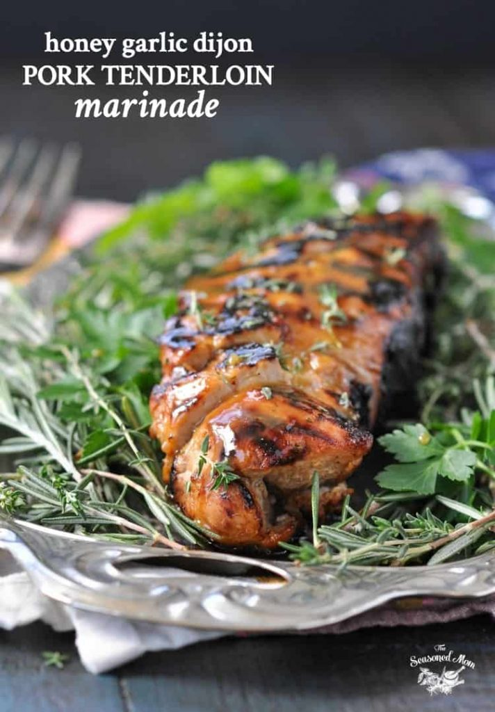 Honey Garlic Dijon Pork Tenderloin Marinade