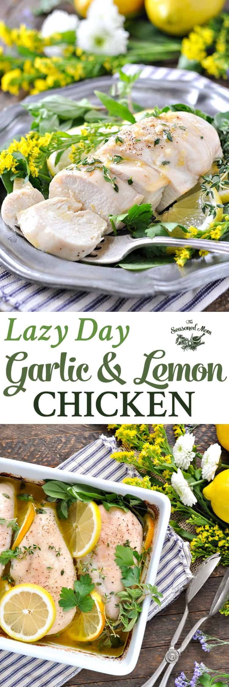 Lazy Day Garlic And Lemon Chicken Easy Dinner Recipes