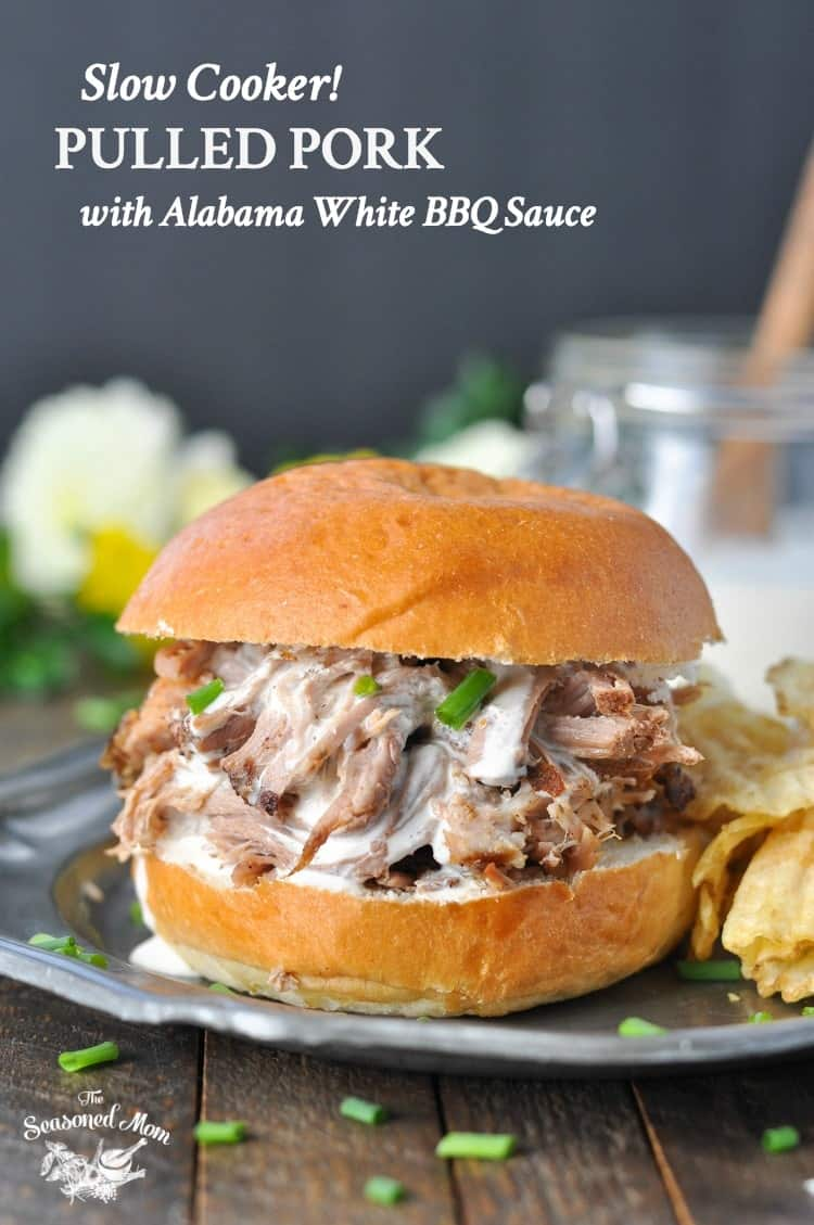 Slow Cooker Pulled Pork With Alabama White Barbecue Sauce The