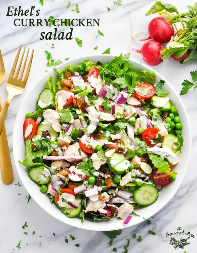 Ethel's Curry Chicken Salad