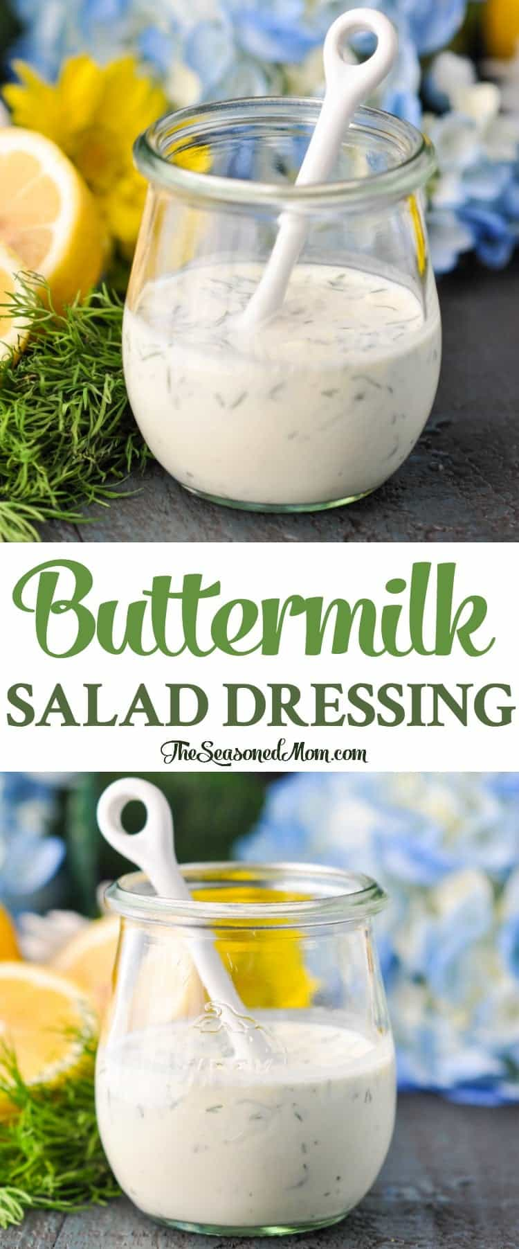 Buttermilk Salad Dressing Recipe | Salads | Salad Recipes | Sides | Healthy Salads | Healthy Salad Dressing | Salad Dressings