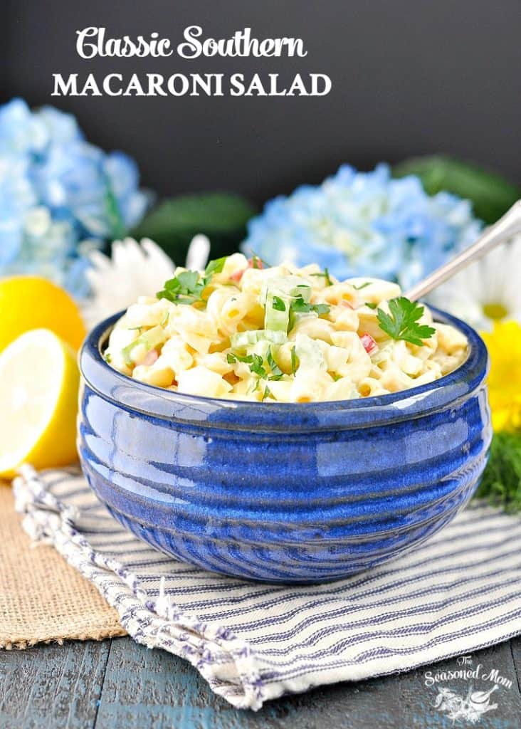Classic Southern Macaroni Salad + a Video!