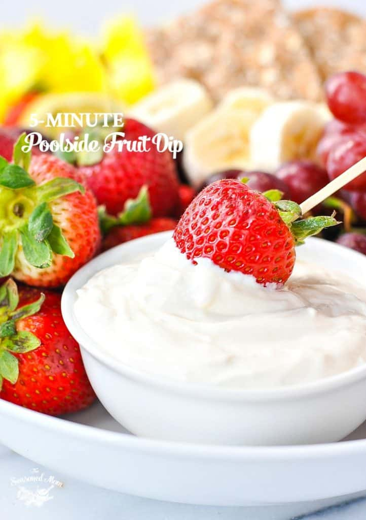 5-Minute Poolside Fruit Dip + a Giveaway!