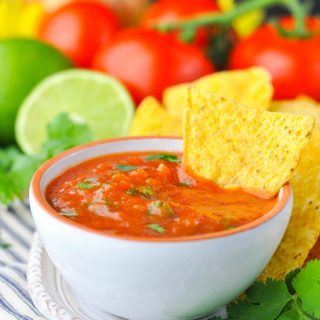 Fresh 5-Minute Homemade Salsa