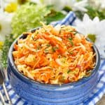 Amish Sweet and Sour Coleslaw + Our Week in Meals in Florida!