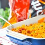 Doritos Nacho Cheese Taco Bake