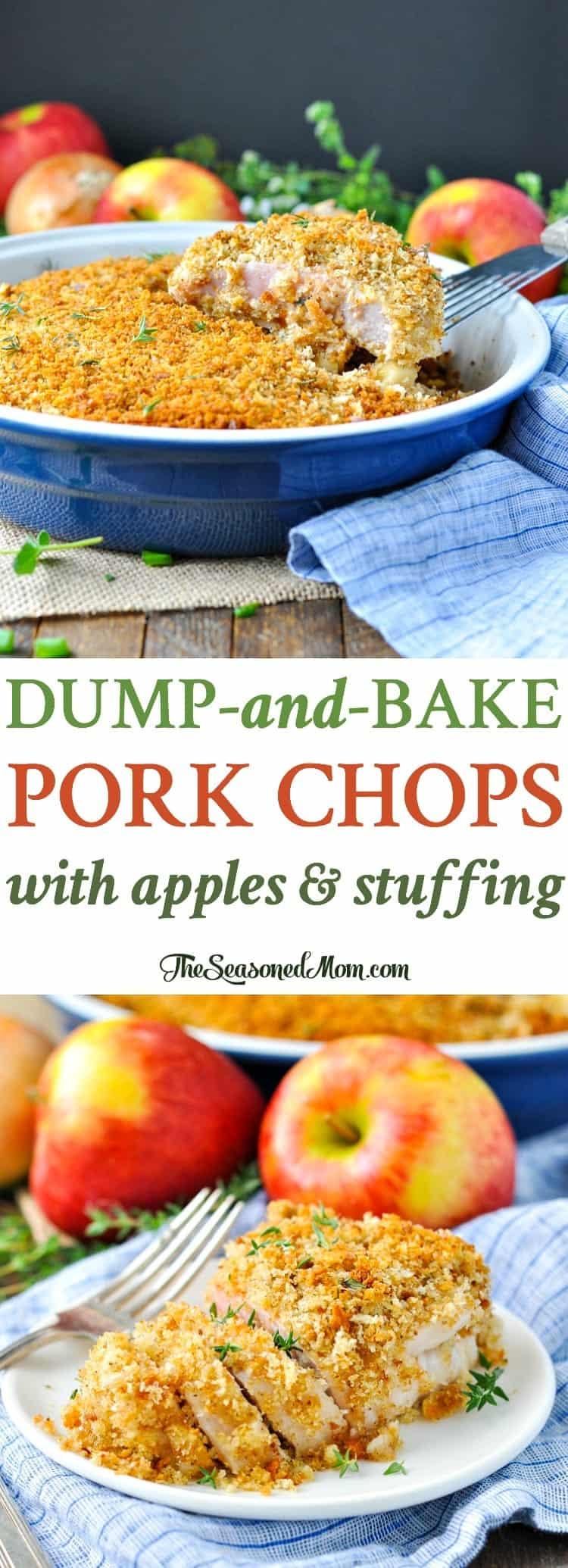 Dump-and-Bake Boneless Pork Chops - The Seasoned Mom