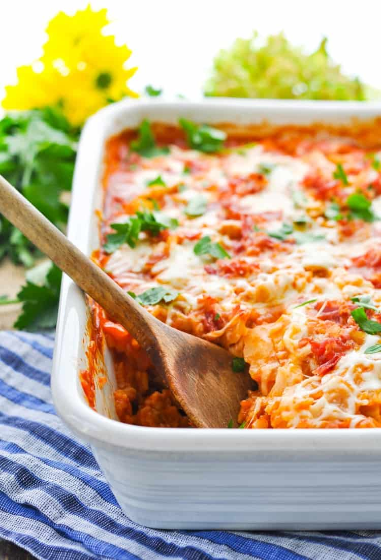 Dump And Bake Stuffed Cabbage Rolls Casserole The Seasoned Mom