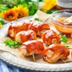 3-Ingredient Bacon Wrapped Chicken Bites