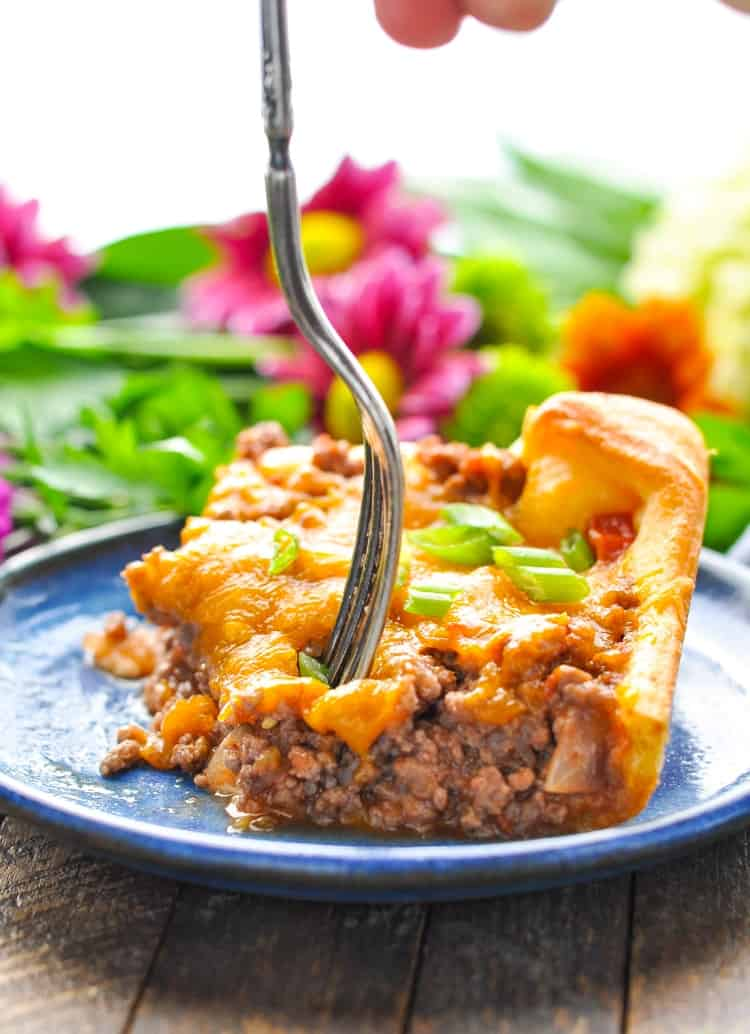 4 ingredient crescent roll ground beef casserole the seasoned mom 4 ingredient crescent roll ground beef casserole forumfinder