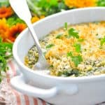 Easy Creamed Spinach Casserole