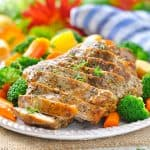 Garlic & Herb Slow Cooker Pork and Vegetables