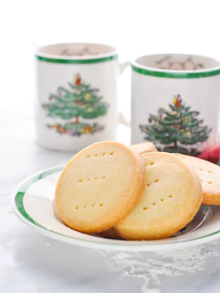 3 Ingredient Scottish Shortbread Cookies The Seasoned Mom
