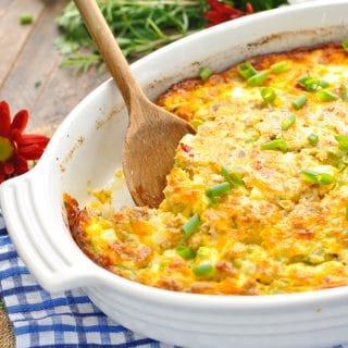 Sallie's Overnight Easy Breakfast Casserole
