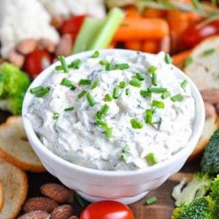 5-Ingredient Creamy Spinach Dip