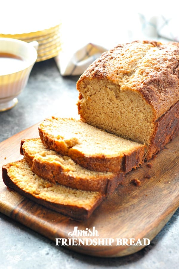 Amish Friendship Bread Free Recipe by Blair from The Seasoned Mom!