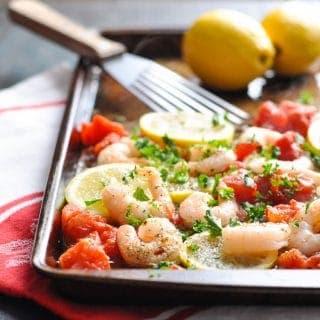 20-Minute Meal: Baked Italian Shrimp